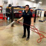 Gerson Prepping Shop Floor