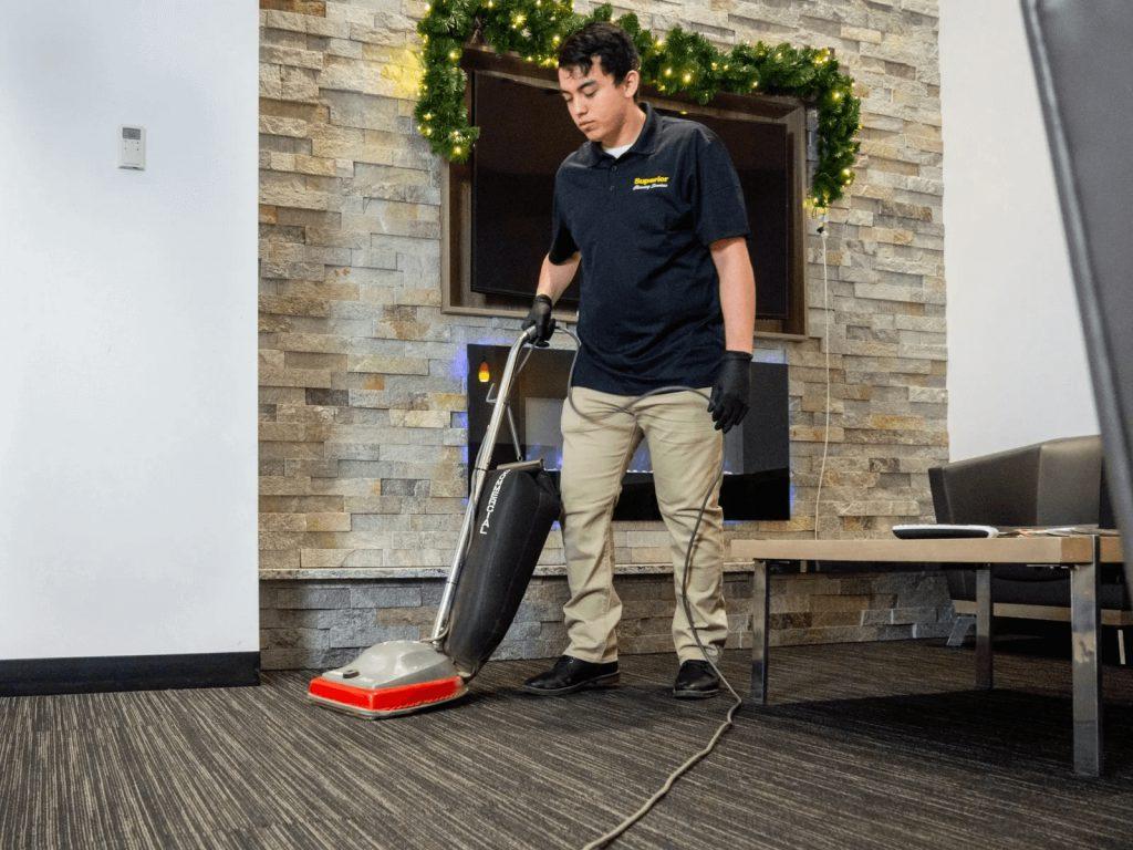 Gerson-Vacuuming-Lobby
