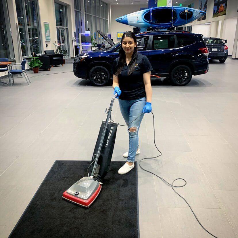 Maria-Vacuuming