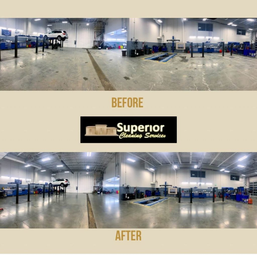 Shop Floor Before and After